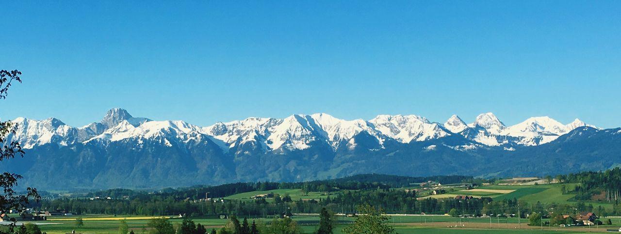 Beautiful stock photos of sonnenaufgang, clear sky, copy space, mountain, mountain range