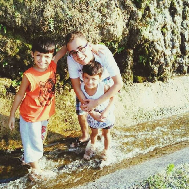 Cousin Waterfall That's Me Middle ☺☺