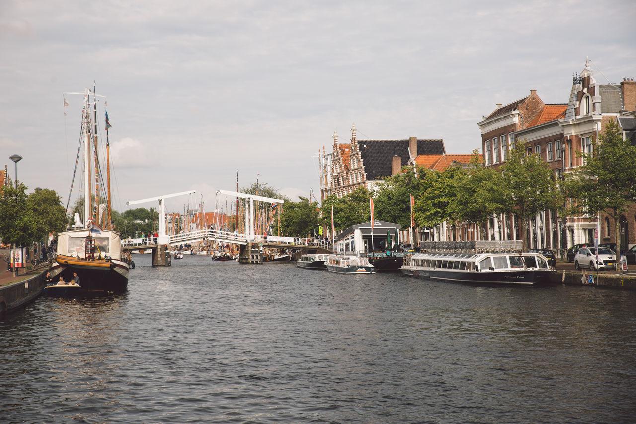 Architecture Haarlem Haarlemse Haarlemse Vaardagen 2017 Boats Bridge Bridge - Man Made Structure Canal Cruise Dutch River Ships Spaarne Vaardagen