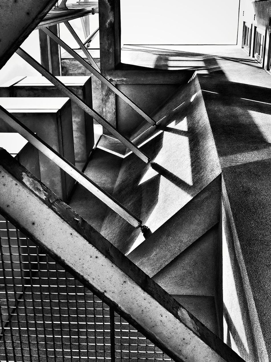 Blackandwhite Steel Concrete Facade Detail Urban Architecture Industrial Shadows & Lights