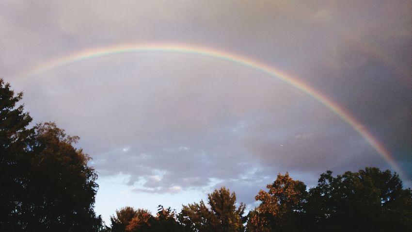 In Linn gesehen, noch nie so ein großes Regenbogen habe ich gesehen First Eyeem Photo