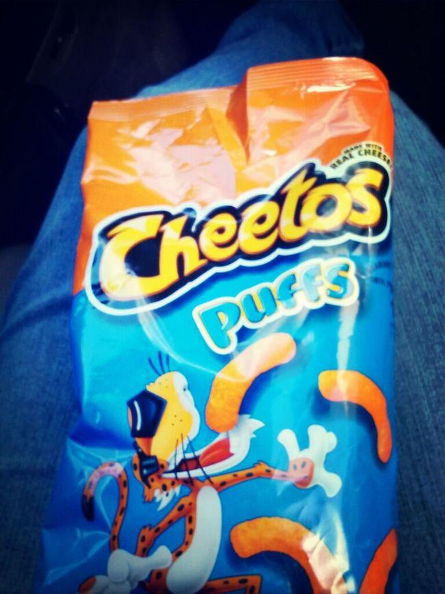 cheese puffs !