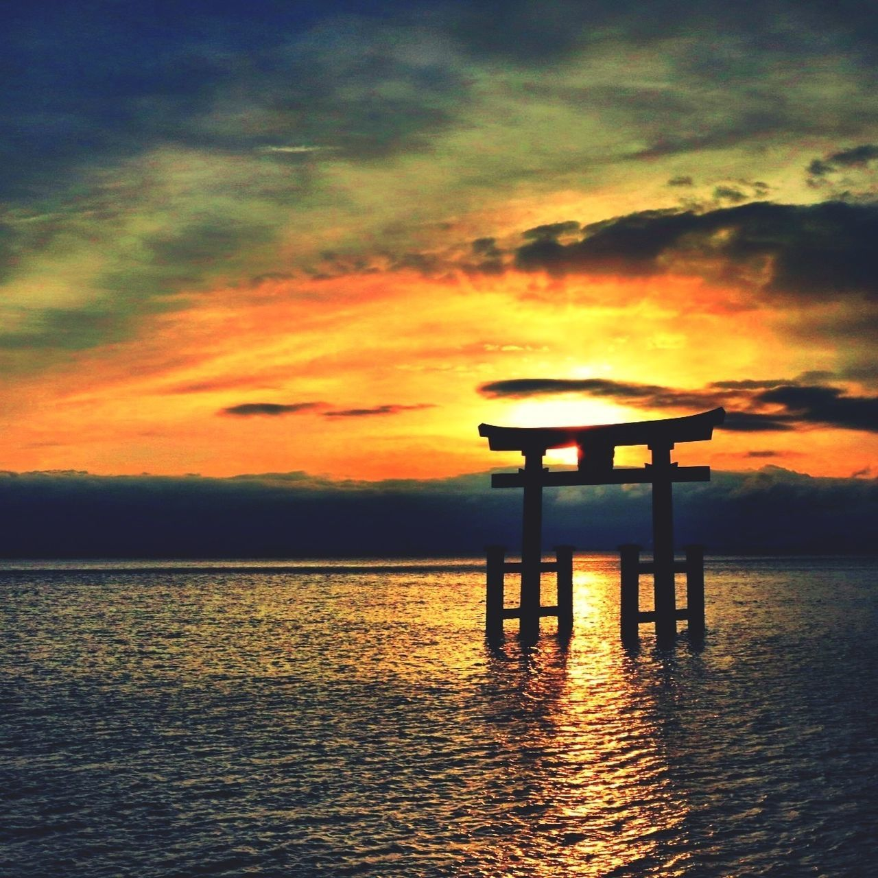 Japan Scenery EyeEm Best Shots - Sunsets + Sunrise Water - Collection EyeEm Best Shots