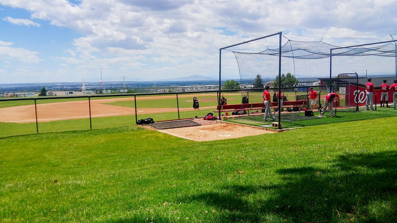 Beautiful stock photos of baseball, Baseball - Sport, Baseball Player, Baseball Uniform, Cloud - Sky