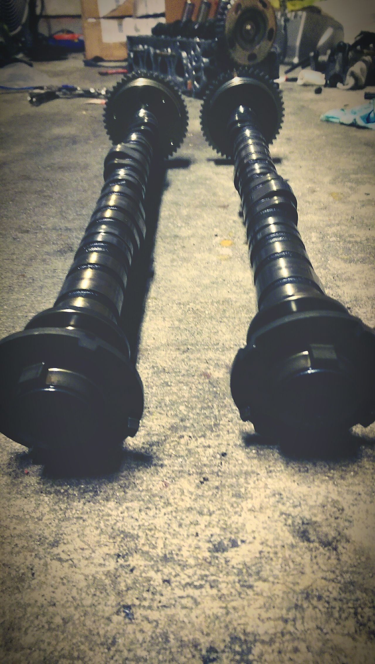 Camshaft K20 K24. Motor Honda.. Acura Rsx Engine Build First Eyeem Photo