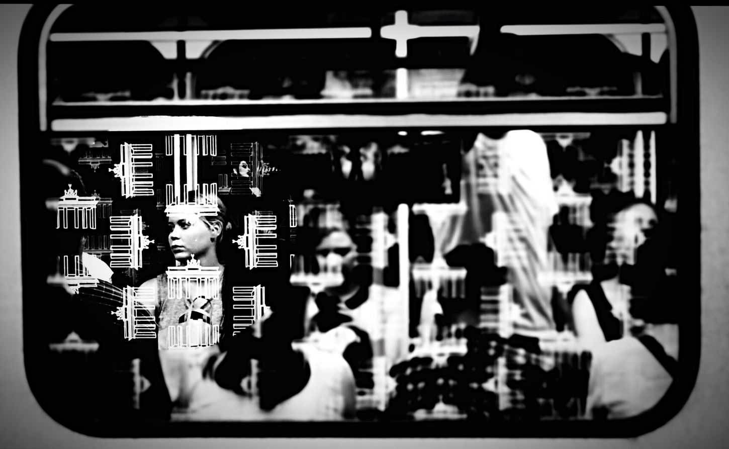 Open Edit Berlin Street Photography Notes From The Underground Peoplephotography Through The Window Blackandwhite Photography My Fuckin Berlin Public Transportation Berlin Photography Streetphotography