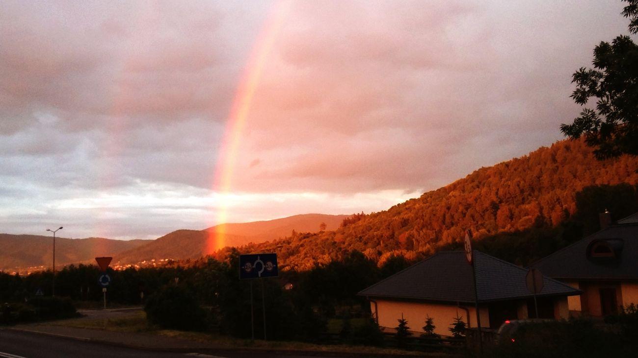 Over the rainbow. Rainbow Rainy Days Bielsko-Biała Szyndzielnia
