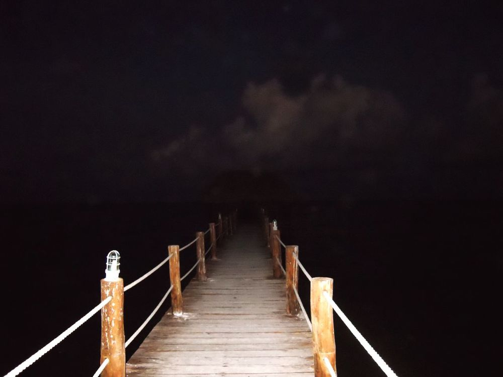 Railing Outdoors The Way Forward Nature Sea Sky Tranquility No People Wood Paneling Day Live For The Story