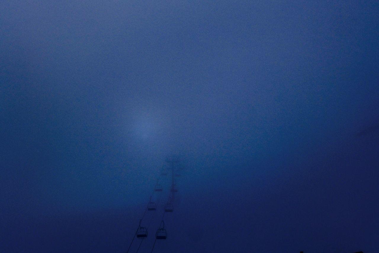 Mountain Courchevel  Fog Foggy Ski Holiday Ski