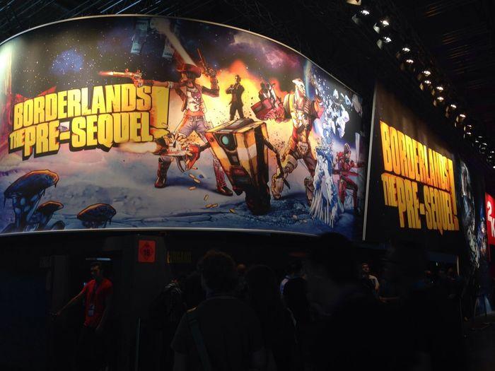Gamescom 2014 Fachbesucher Borderlands