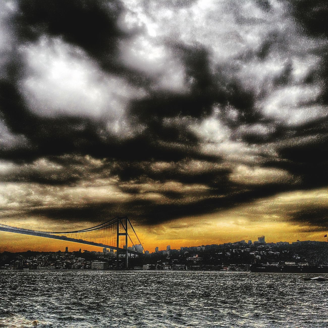 Sunset_collection Skyporn Landscape_Collection EyeEm Best Shots Istanbul Landscape Clouds And Sky