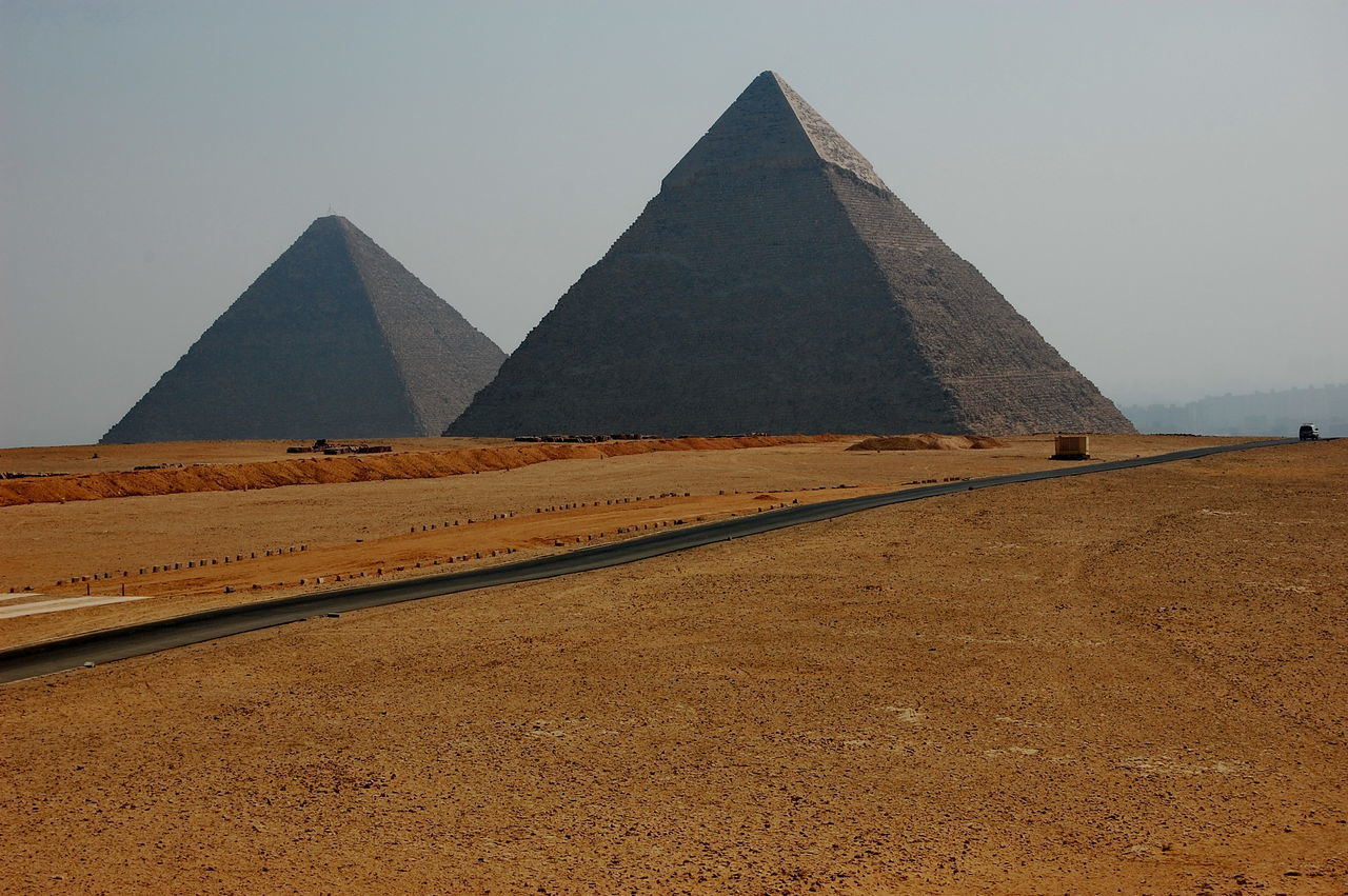 Beautiful stock photos of egypt, Architecture, Arid, Brown, Clear Sky