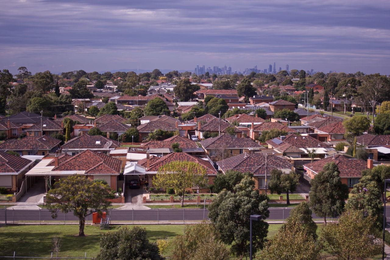 Architecture Australia Australian Suburbia Australian Suburbs Building Exterior Built Structure Day Landscape Melbourne No People Outdoors Roof Sky Suburban Suburbia Suburbian Suburbianlife Tree Victoria West West-side