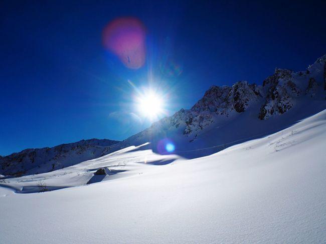 Snow Mountain Snow Mountains Mountain View EyeEm Best Shots Winter Blue Sky Mt.kisokomagatake Mountaineering Trekking Hiking It's Cold Outside Japan
