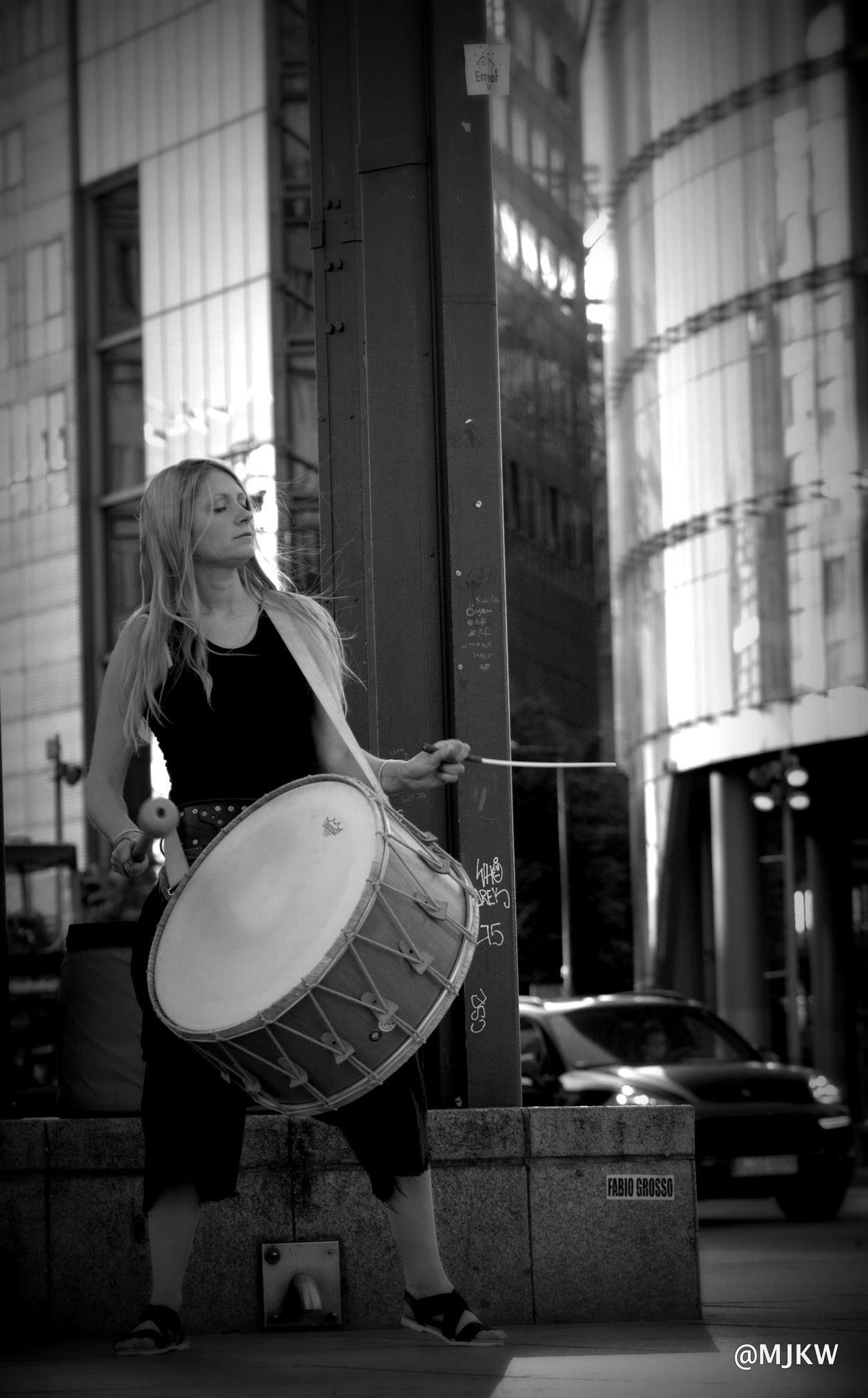 The Idrisi drummer in Berlin Only Women Female Drummer Arts Culture And Entertainment Adults OnlyOne Woman Only Musician Music Is My Life Drum Drummer Medival Art arts culture and entertainment Music City