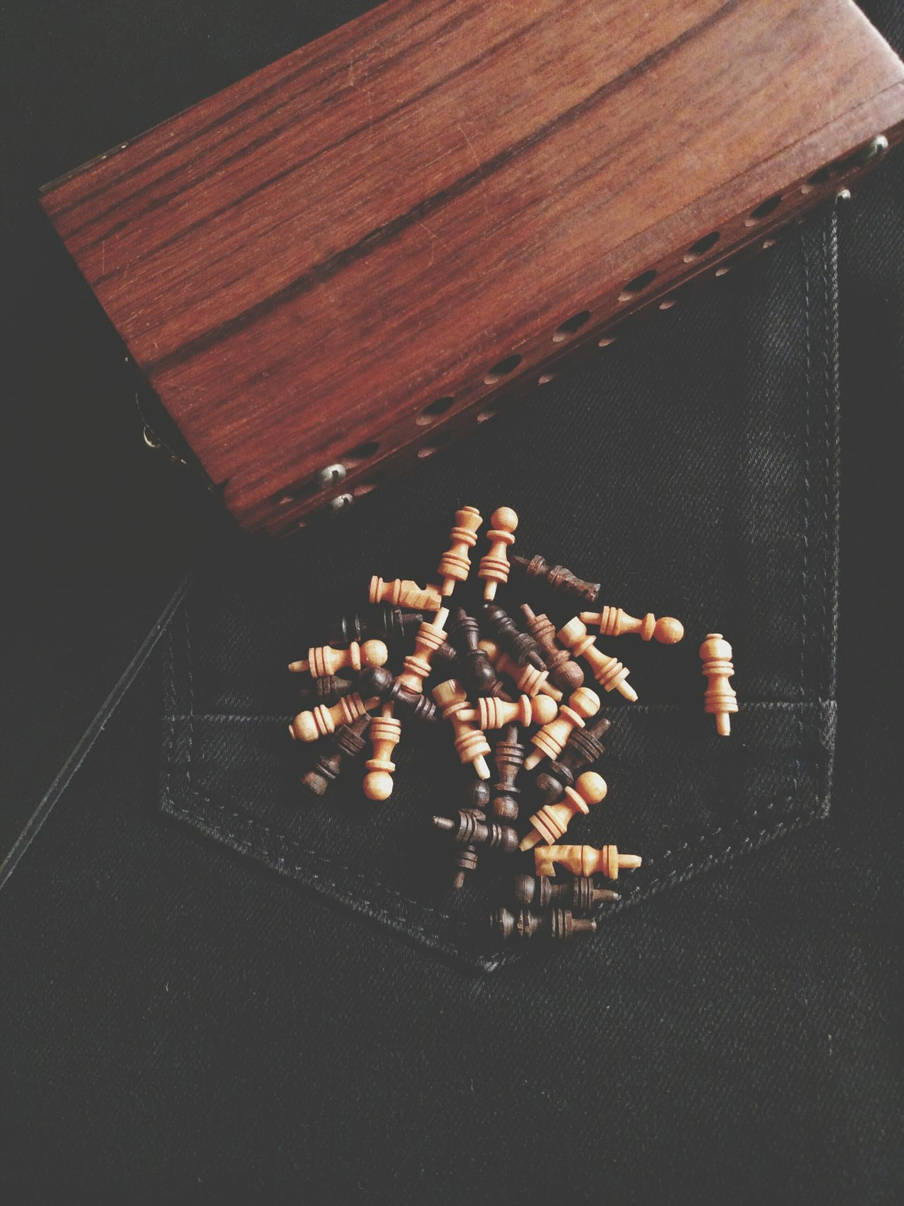 Chesspieces Wooden Chess Board Chess Old Old Wooden Chess Old Style Cool Stuff Cool Rare Items Vintage Stuff Classic Day Indoors  No People Old Is Gold India Indian Vintage Small Mobile Photography Lieblingsteil Second Acts Be. Ready.