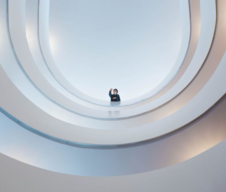 Have a great weekend Architecture Curve Indoors  Blue Colors Lines Spiral Round Photographer Photography Canon White Clean Architecture_collection Lifestyles Explore Roof Minimalism Minimalist Architecture Lookingup Look Up Perspective Live For The Story The Architect - 2017 EyeEm Awards EyeEmNewHere