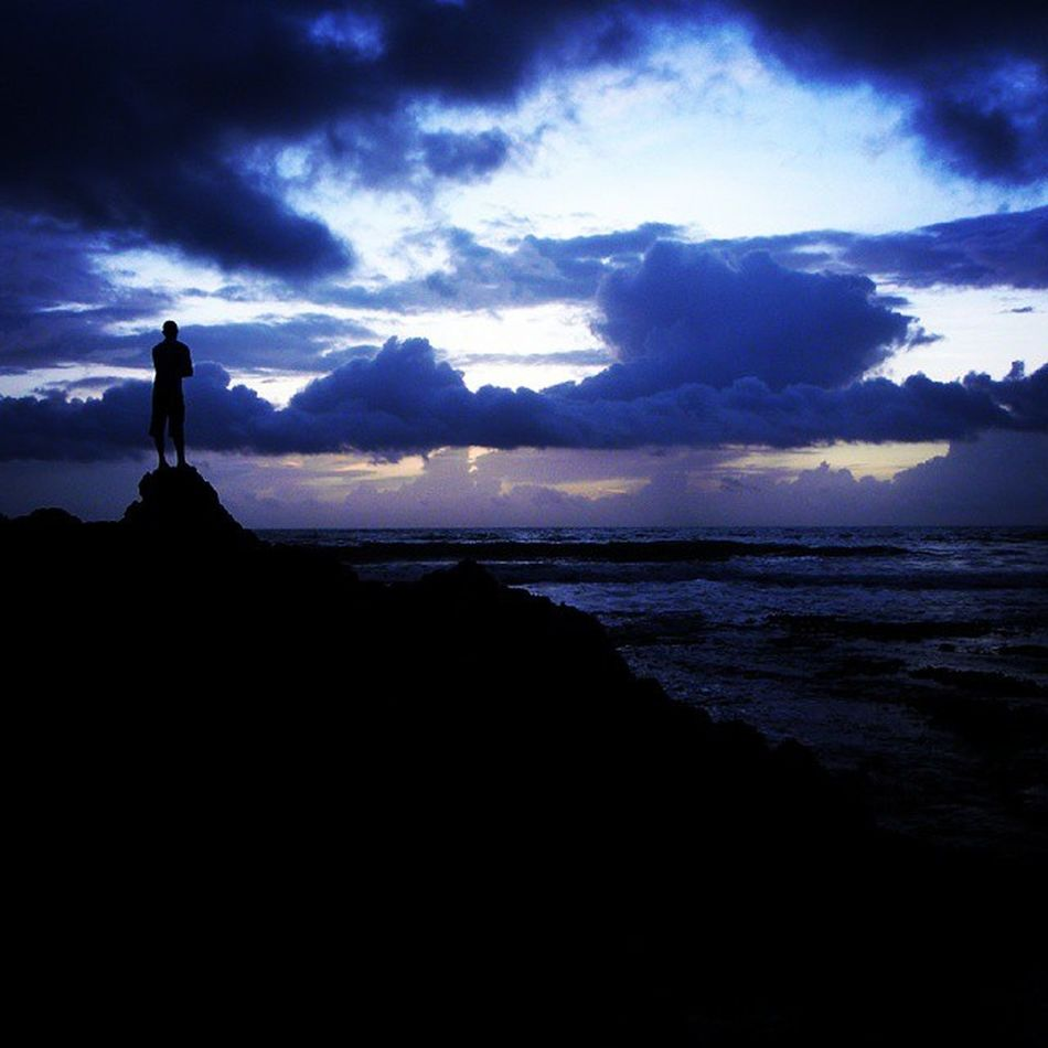 Standing high...... In the night sky...... Andamans. Dawn Of A New Day Andamanislands Blue Sky Blackfigure