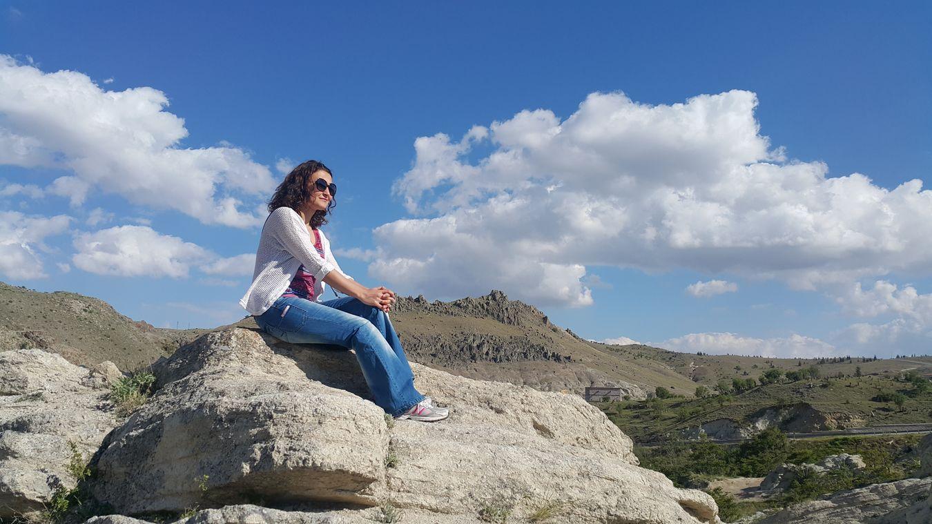 Enjoying The Sun Nature Relaxing Great Atmosphere Konya Sille Travel