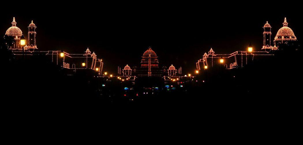 Rashtrapati Bhavan Republic Day Celebrations Decorations