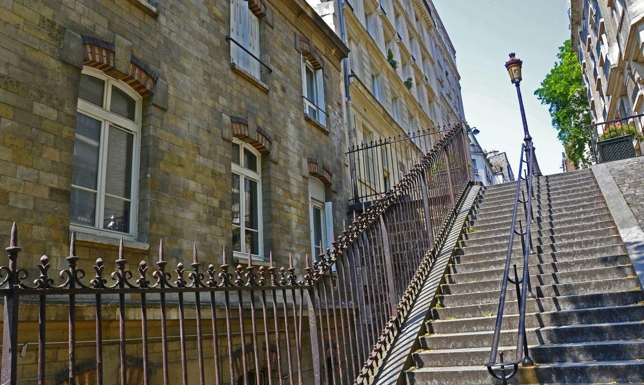 Paris Paris ❤ Paris Je T'aime Paris Montmartre Monmartre Stairways Stairs Stairway To Heaven