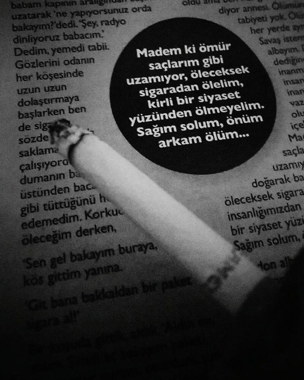 Öleceksek sigaradan ölelim albayım!! 🔫 Nazan Öncel. Pazar Atina