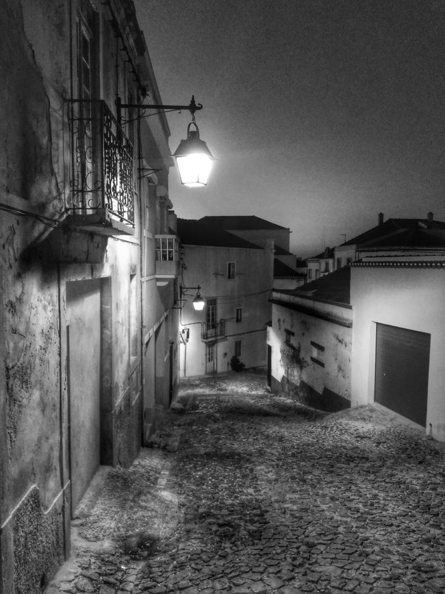 Building Exterior Architecture Built Structure House Street Light Illuminated Residential Structure Lighting Equipment Residential Building The Way Forward Street Narrow Walkway Footpath Surface Level Empty Road Outdoors Electric Light No People Long Tranquil Scene Solitude Tranquility Monochrome Photography Overnight Success