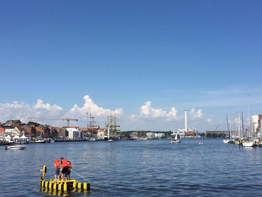 port Flensburg Port Port Flensburg Hafen Flensburg Hafenspitze Duck Germany EyeEm Gallery The Essence Of Summer