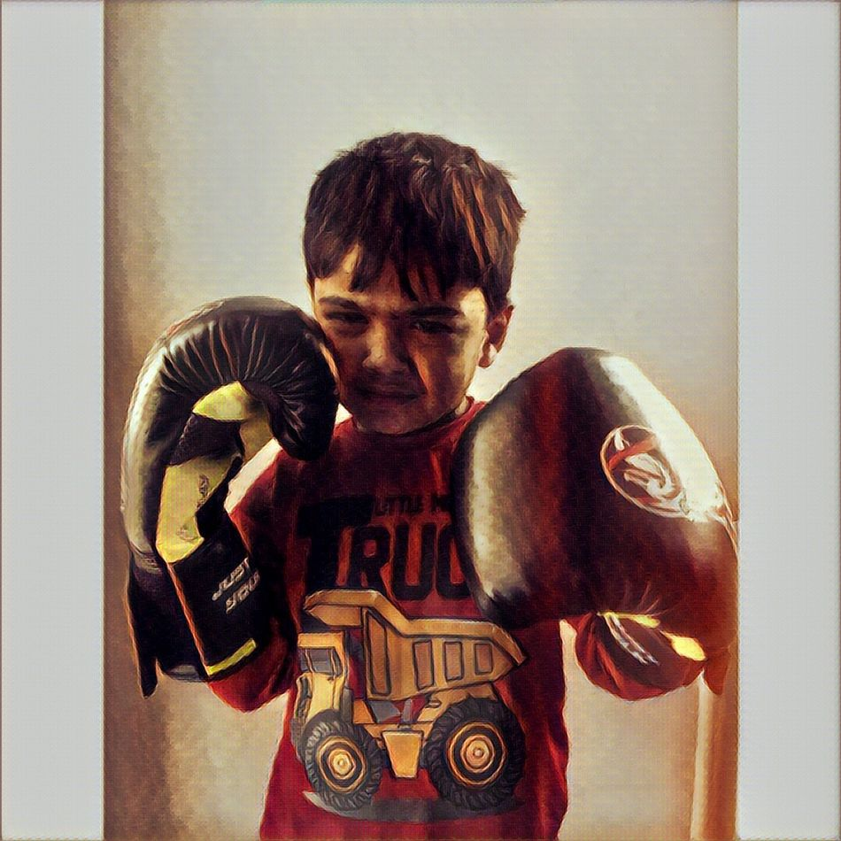 Boks MMA Boy Love Punch 👊🏻☺️
