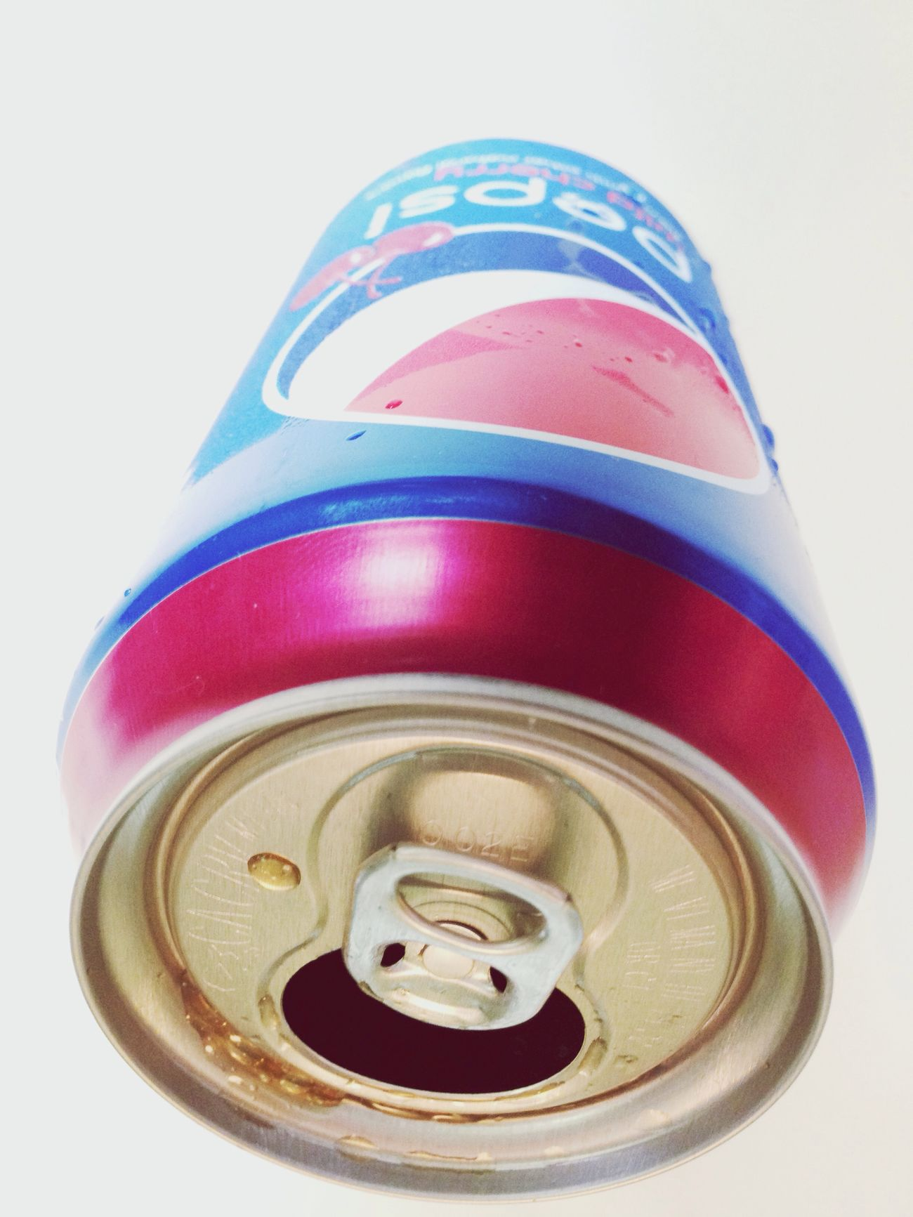 Soda Can Cold Wild Cherry pepsi sucka