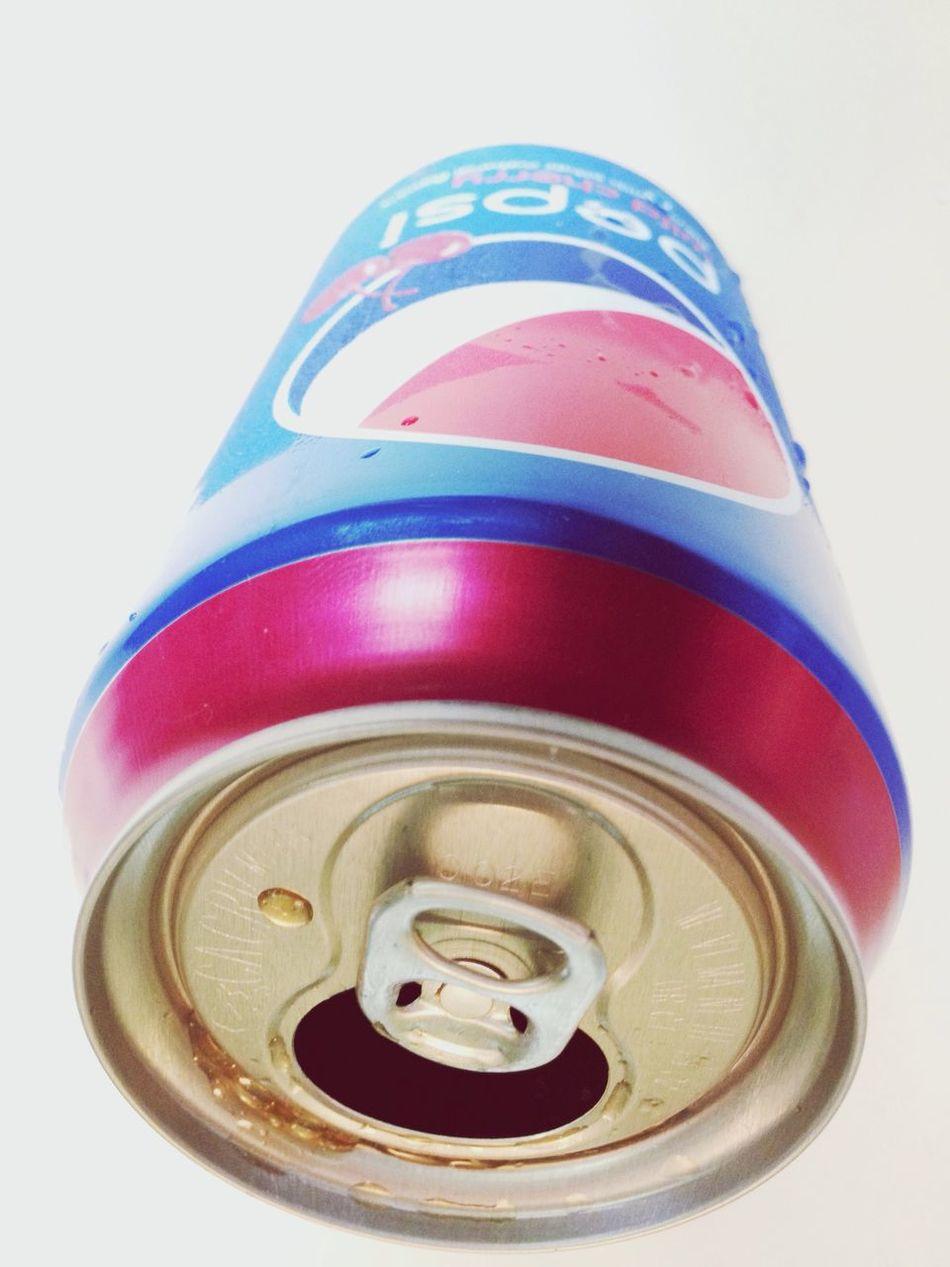 Soda Can Cold Wild Cherry pepsi sucka