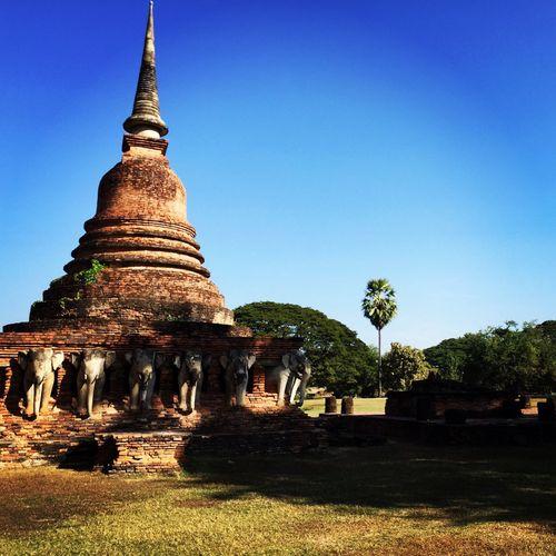 My beloved place Hello World In Heaven Thailand Sukhothai Sukhothaihistoricalpark Happy Happiness