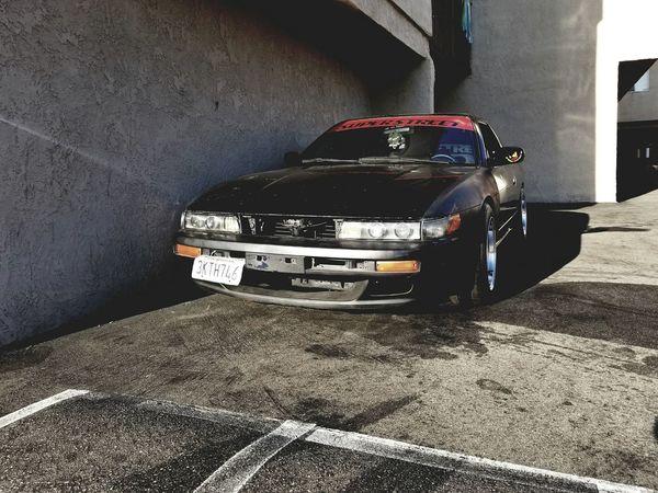 Gotta love the 90s Japanese styling Mode Of Transport Transportation Nissan240sx S13 Close-up Ka24de Metal Technology Nissan Classic Car Car Land Vehicle Engine Japanese Car 180sx 200sx 200sxgram 240sxnation Silvia Silvias13 Silvia91