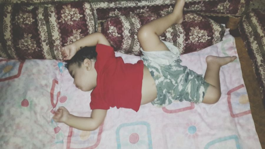 The best sleep position for A 1 year old sister Kids
