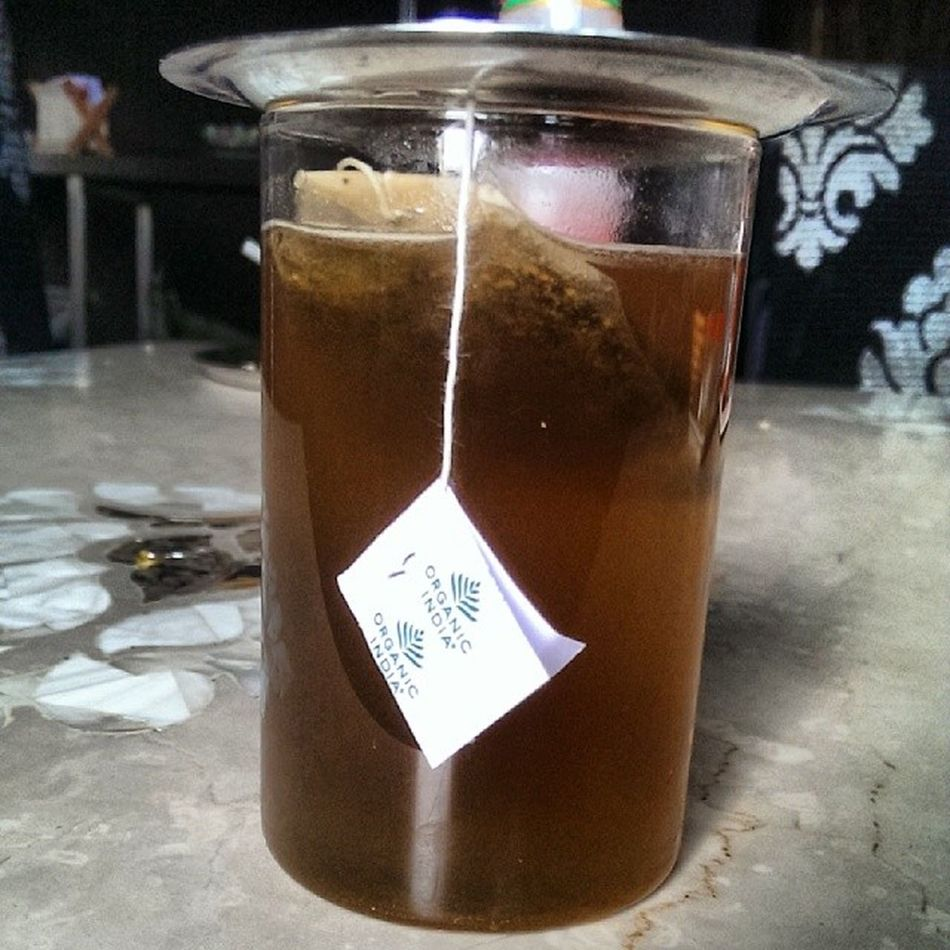 Organicindia Organic Herbal Herbalgreentea greenteateaspiceassamrihnosleeppeacetulsigingerhoneyhoneygreentea