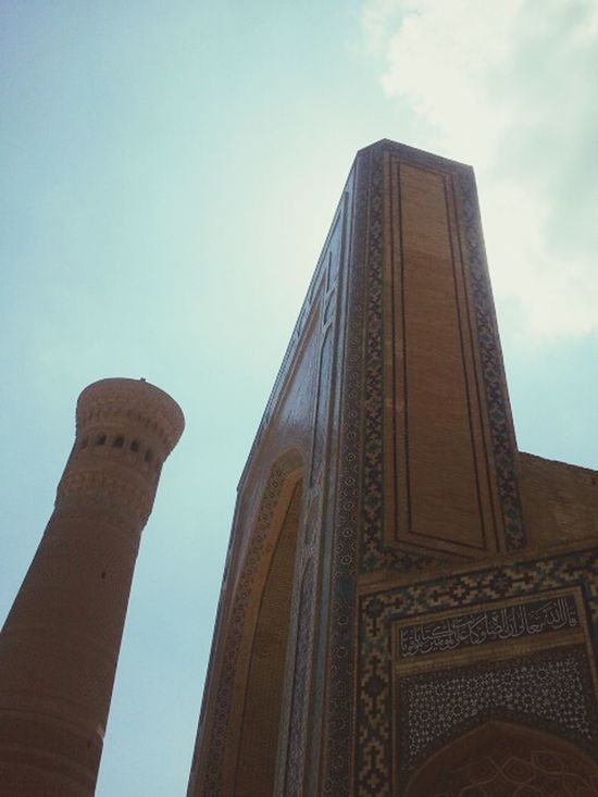 Minaret Mosque Kalyan Bukhara