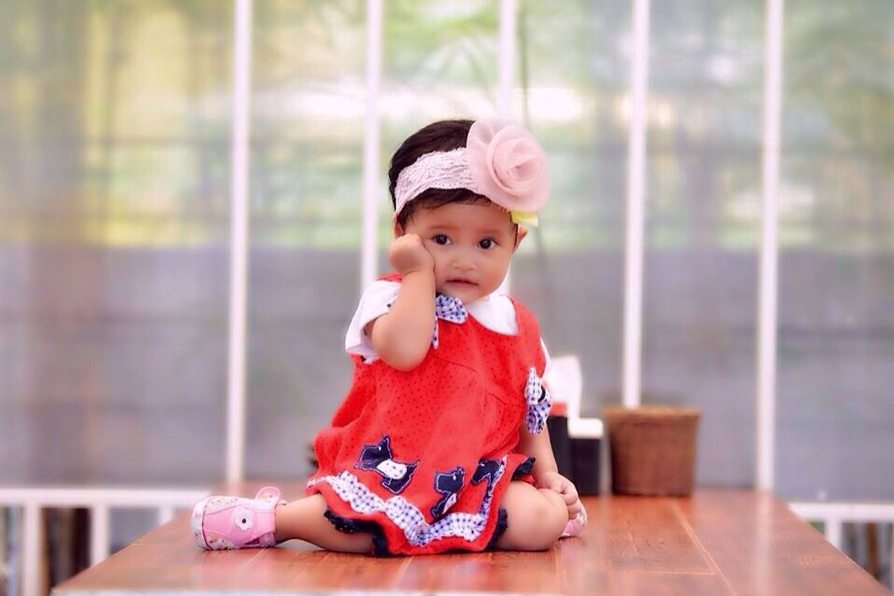 Baby Niece Funny .... Gemes sama keponakan satu ini....