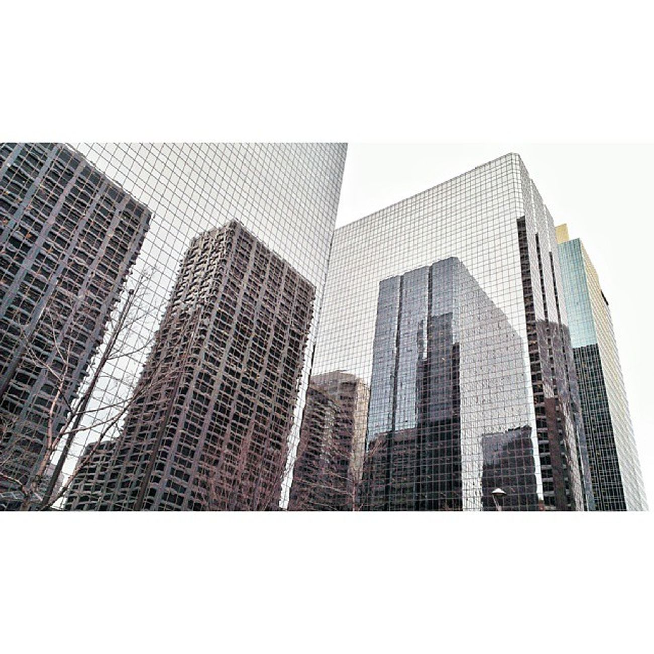 Urban Reflections. YYC Downtowncalgary