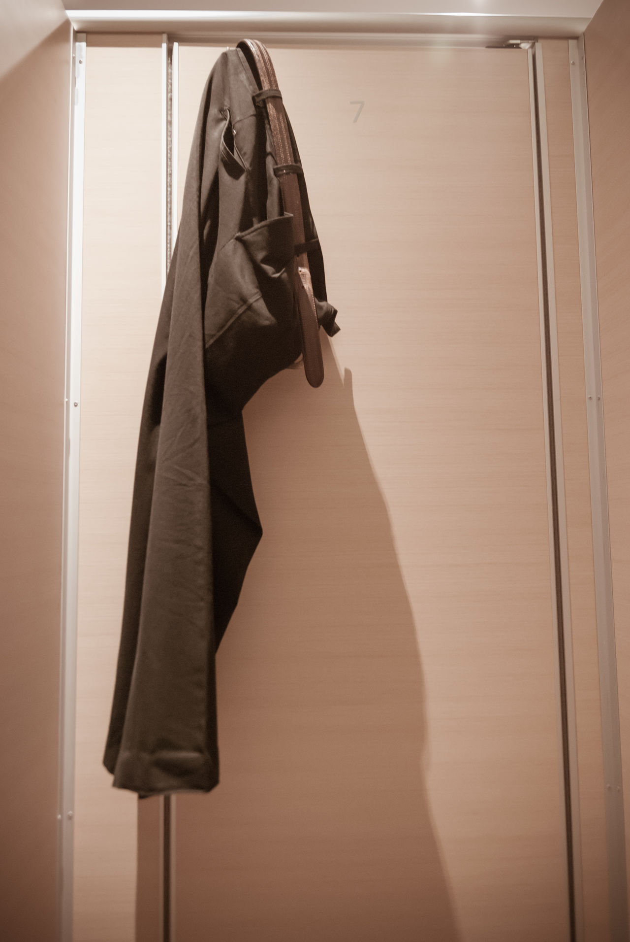 trouser hanging in In the toilet Adult Defecate Hang Hanging Trousers In Closet Indoors  Men's Toilets Personal Private Toilet Trousers