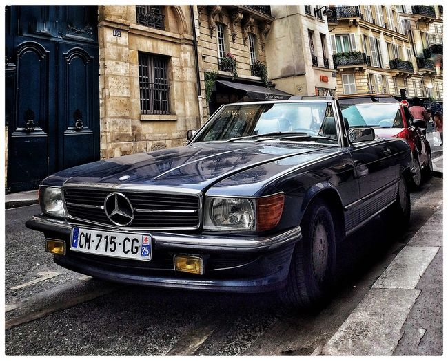 Mercedes-Benz Old Car Paris