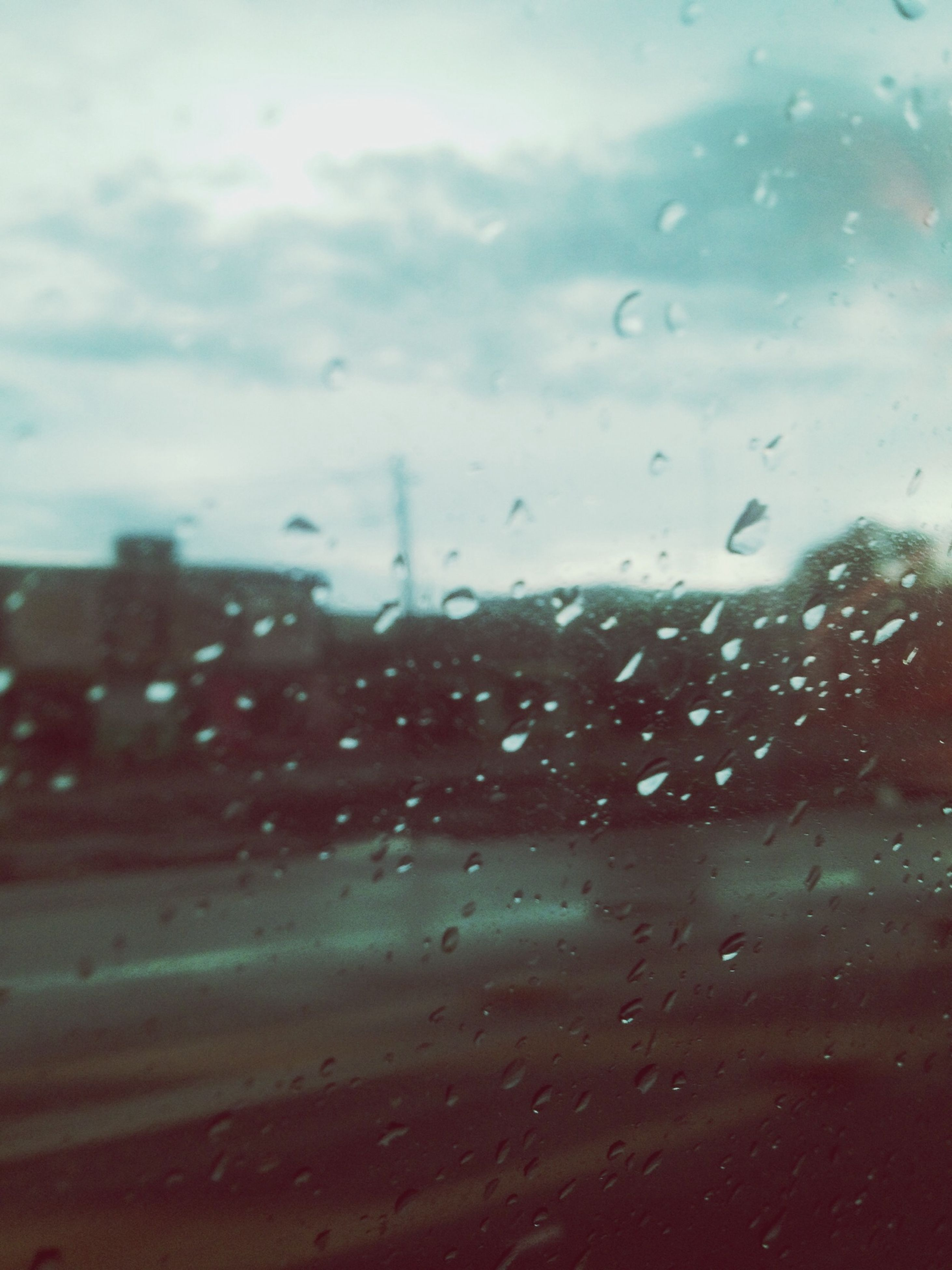 drop, wet, window, transparent, glass - material, rain, water, raindrop, weather, indoors, sky, season, glass, transportation, vehicle interior, car, full frame, backgrounds, focus on foreground, cloud - sky