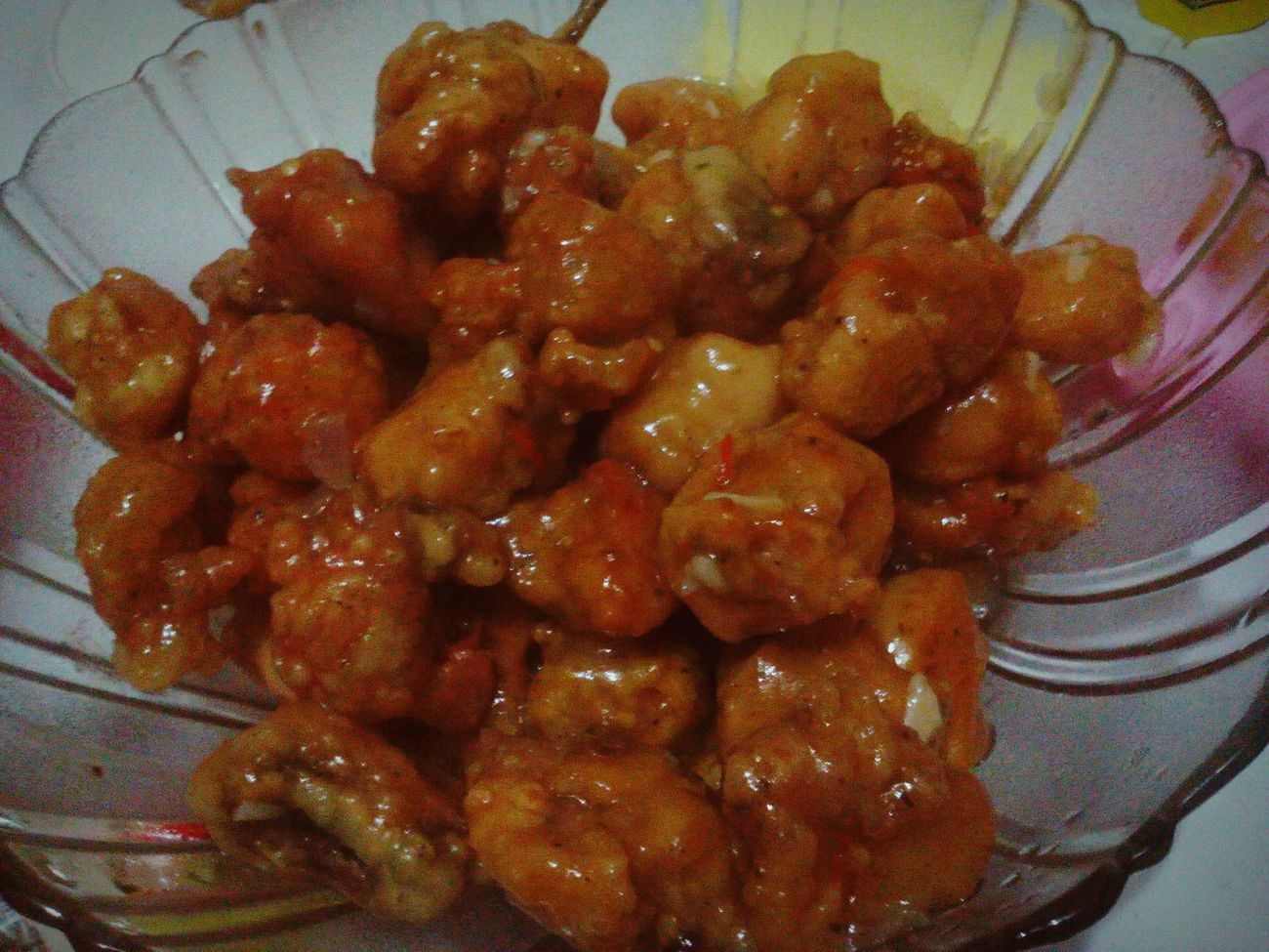 Dinnertime Sweet And Spicy Chickenfillet