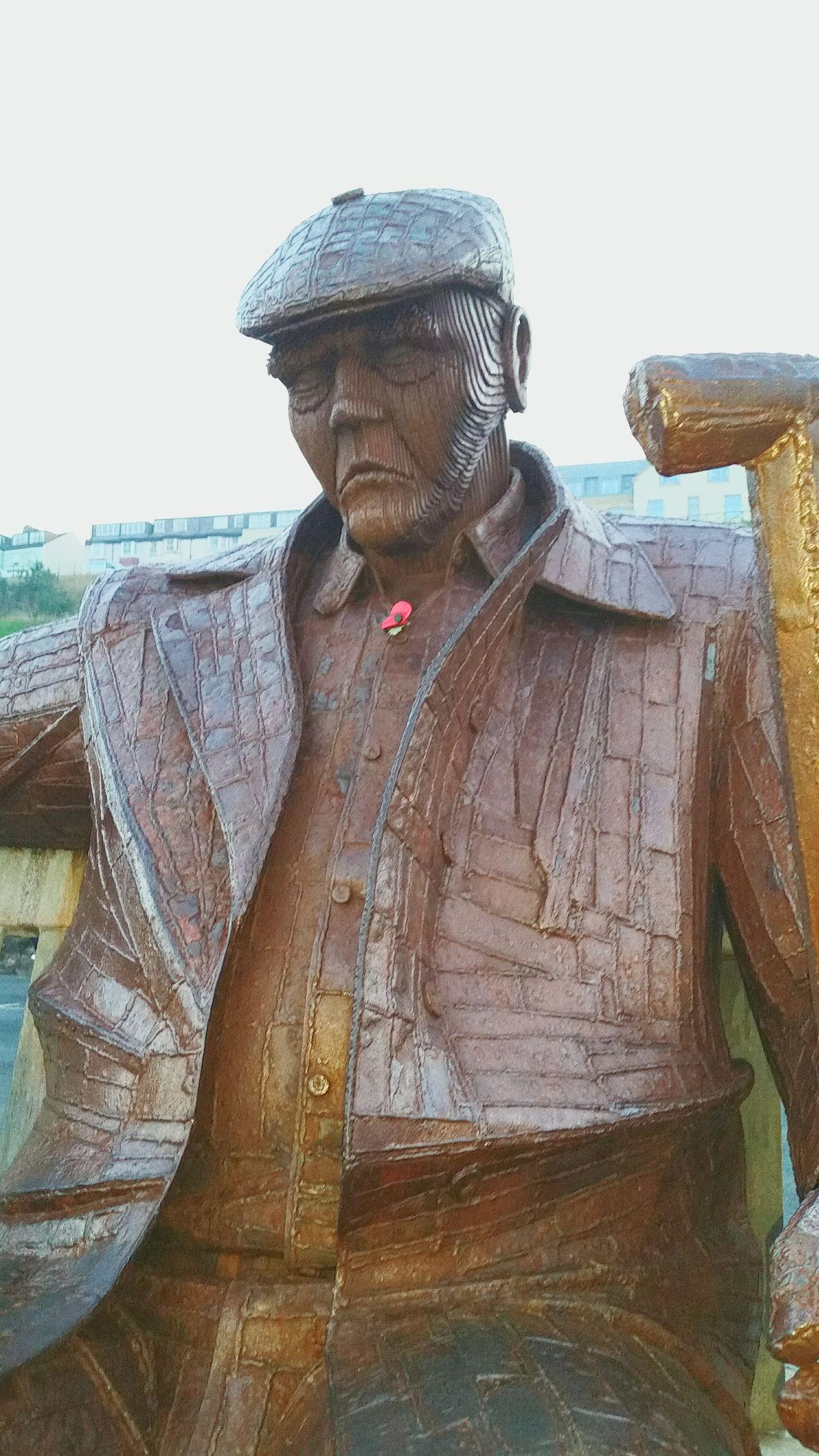 Fredthefisherman Scarborough Scarborough Beach Northyorkshire Statue