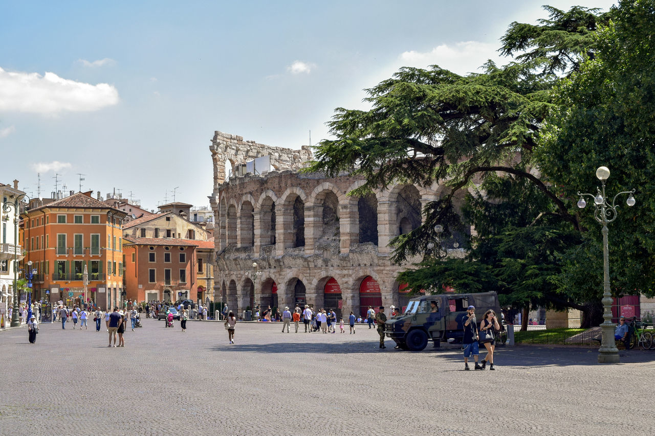177/365 2017 Ancient Civilization Architecture Arena Arena Di Verona Building Exterior Built Structure Day History Italy June 26 Large Group Of People Leisure Activity One Year Project Outdoors Piazza Bra Real People Tourism Travel Travel Destinations Tree Vacations Veneto Verona