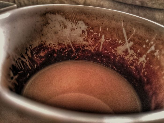 I see a sheep.. Close-up Hygiene Adults Only What Do You See? Mugs Life Mug Tea Stained Tea Time Cuppa CleanlinessIsNextToGodliness Tanning My Old Mug Dirty Or Not
