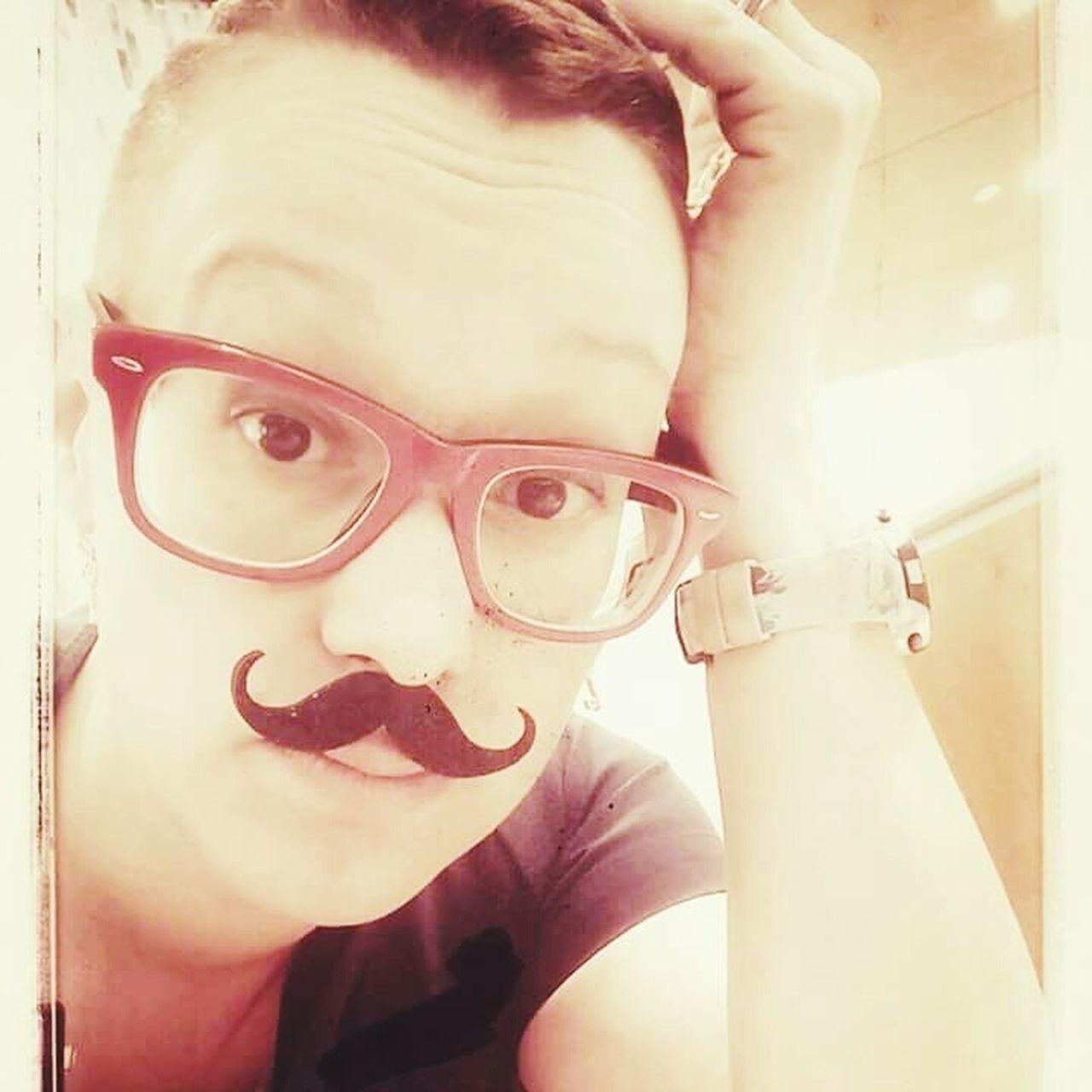 Mymoformovember Moustache Classy Girl