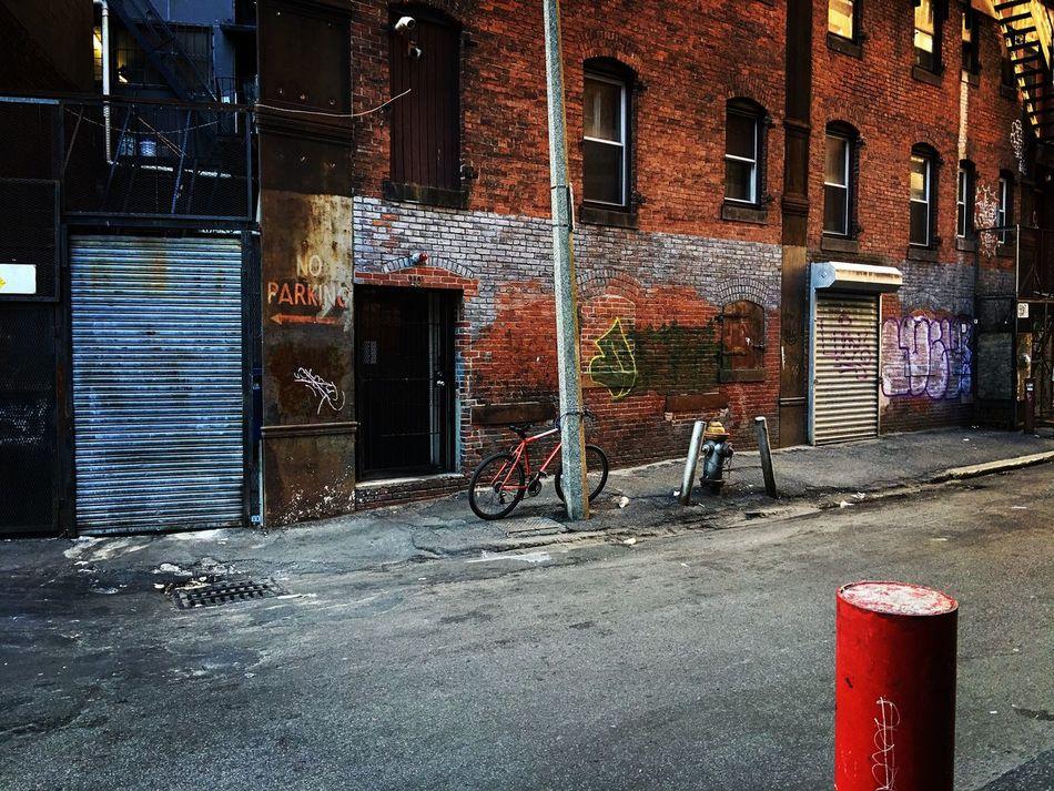 Mountain Bike Chinatown Sikewalk Signs Buildings Streets Asian Culture Diversity Streetphotography Scenery Setting Wall Brick Masonry Mason Graffiti Stone Saturation Art Boston, Massachusetts