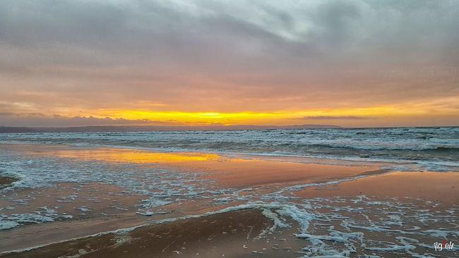 Beach Coastline EyeEm Best Shots EyeEm Nature Lover Horizon Over Water Malephotographerofthemonth Nature_collection Sunset Sunset_collection Waterreflections