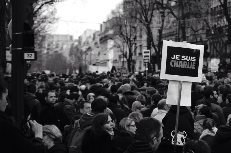 Depth Of Field Paris Jesuischarlie Marcherépublicaine 11janvier2015