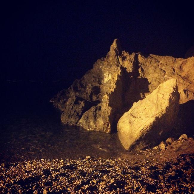 Mágia de noche Nightphotography Night Lights Beach Mediterranean  Beachphotography Life Is A Beach EyeEm Nature Lover Landscape Nature Enjoying Life